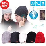 Stylish Wireless Winter Bluetooth Sports Winter Cap With Earphones, Microphone, & Handsfree Speaker For iPhone and Samsung (+More Colors) - Urban Spade Exclusive Shop