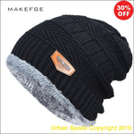 "Urban Spade ""Hong Weizz"" 2019 Men's Winter Fashion knitted Beanie Cap (+More Colors) - Urban Spade Exclusive Shop"