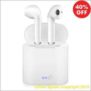 Wireless Bluetooth Earphones With Charging Box Stereo (+More Colors) - Urban Spade Exclusive Shop
