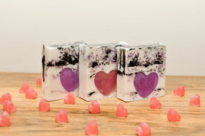 Handmade Heart Soap