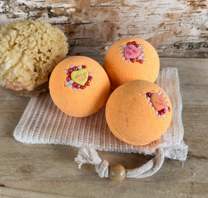 Blood Orange Bath Bombs