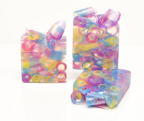 Lavender Lemon Colorful Soap