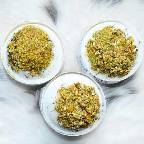 Chamomile Bath Bombs - Bath Bombs - Easter Gift - Stress Relief Bath Bombs - 5oz