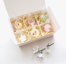 Bathtime Treat Gift Box Custom Made for you, Choose from any 6 Bath Bombs, Bath Melts or Truffles.