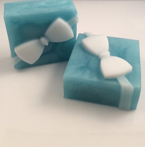 2 Gift Box Soap / Men Soaps / Black tie favor / man soap gift / For him