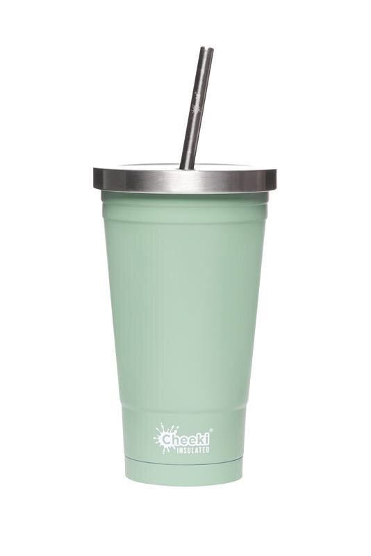 Stainless Steel Insulated Tumbler 500ml Pistachio, Dusty Pink, Ocean