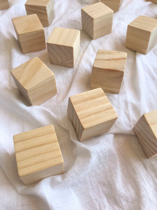 natural building block set.