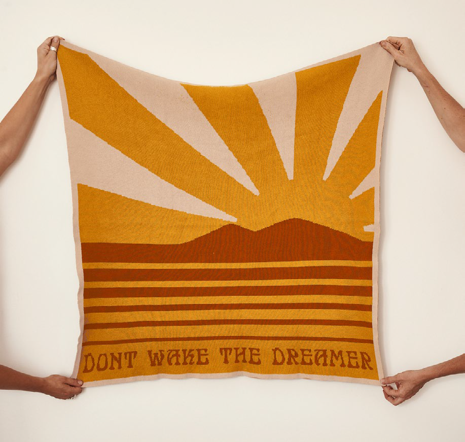 Dont Wake the Dreamer Blankie