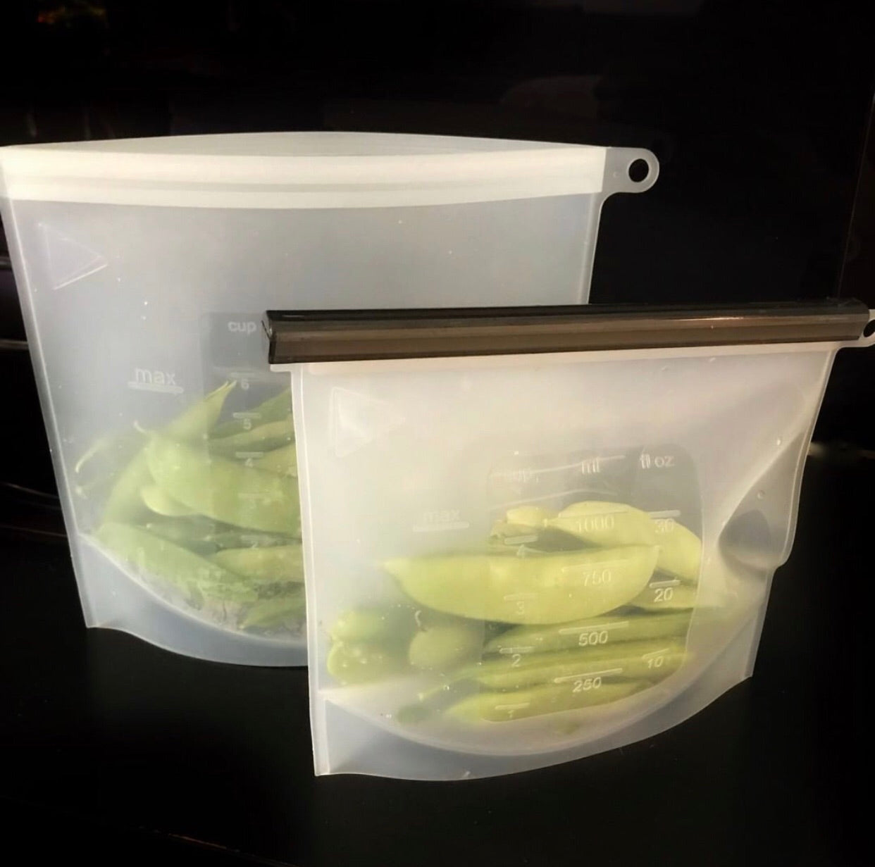 Reusable Fresh Food Storage Bag (L or XL)