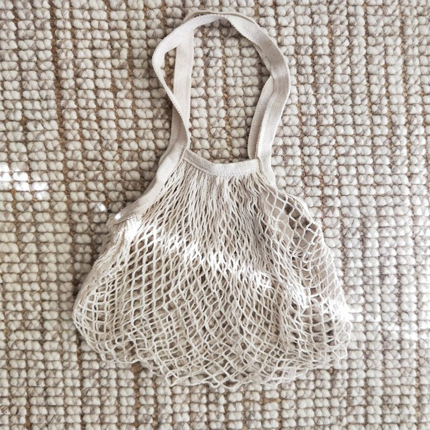Large Cotton String Eco Bag