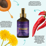 Key Natural Ingredients Oil Balancing Moisturizer | CarmaBella Skincare LLC