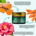 Natural Ingredients Turmeric Mask | CarmaBella Skincare LLC