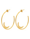 Pastiche  Summer Moon Earrings - E1898YG