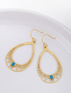 Pastiche  Peacock Earrings - E1904YGTQ