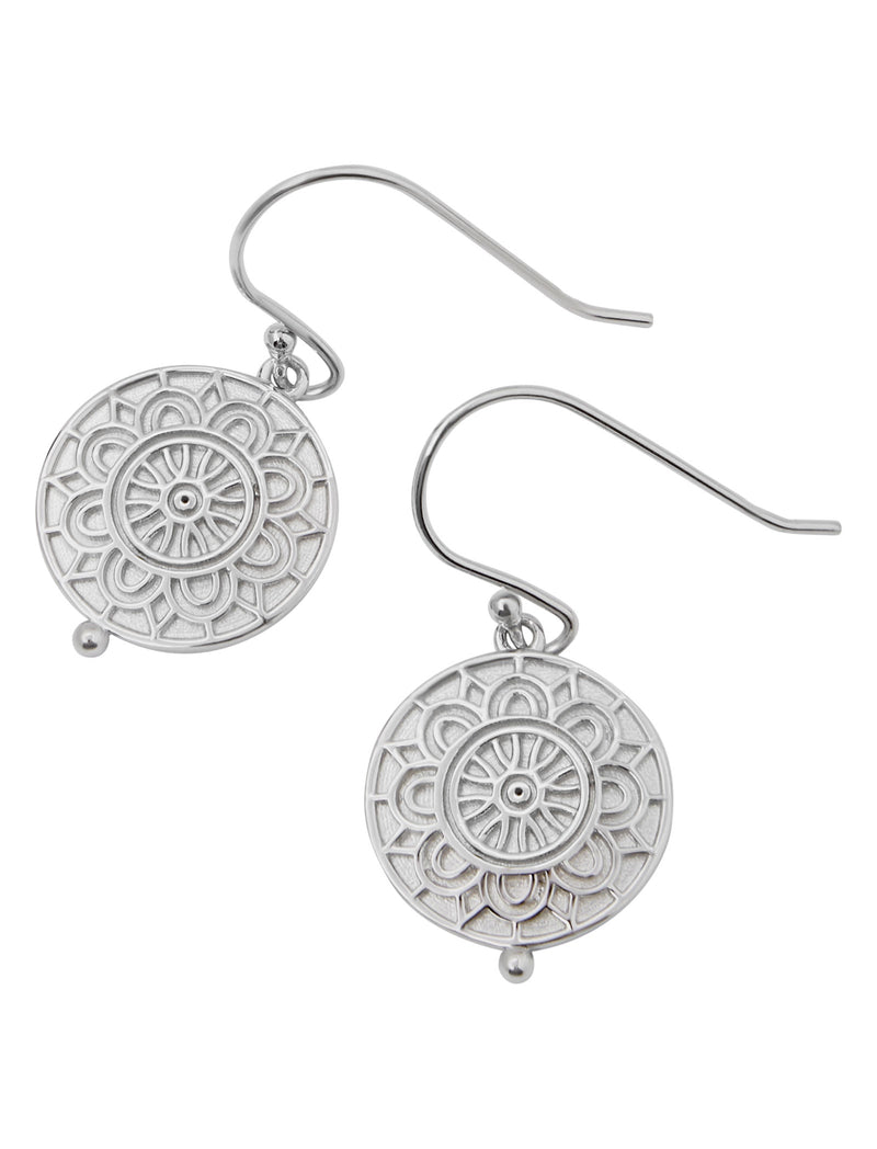 Water Poppy Earrings