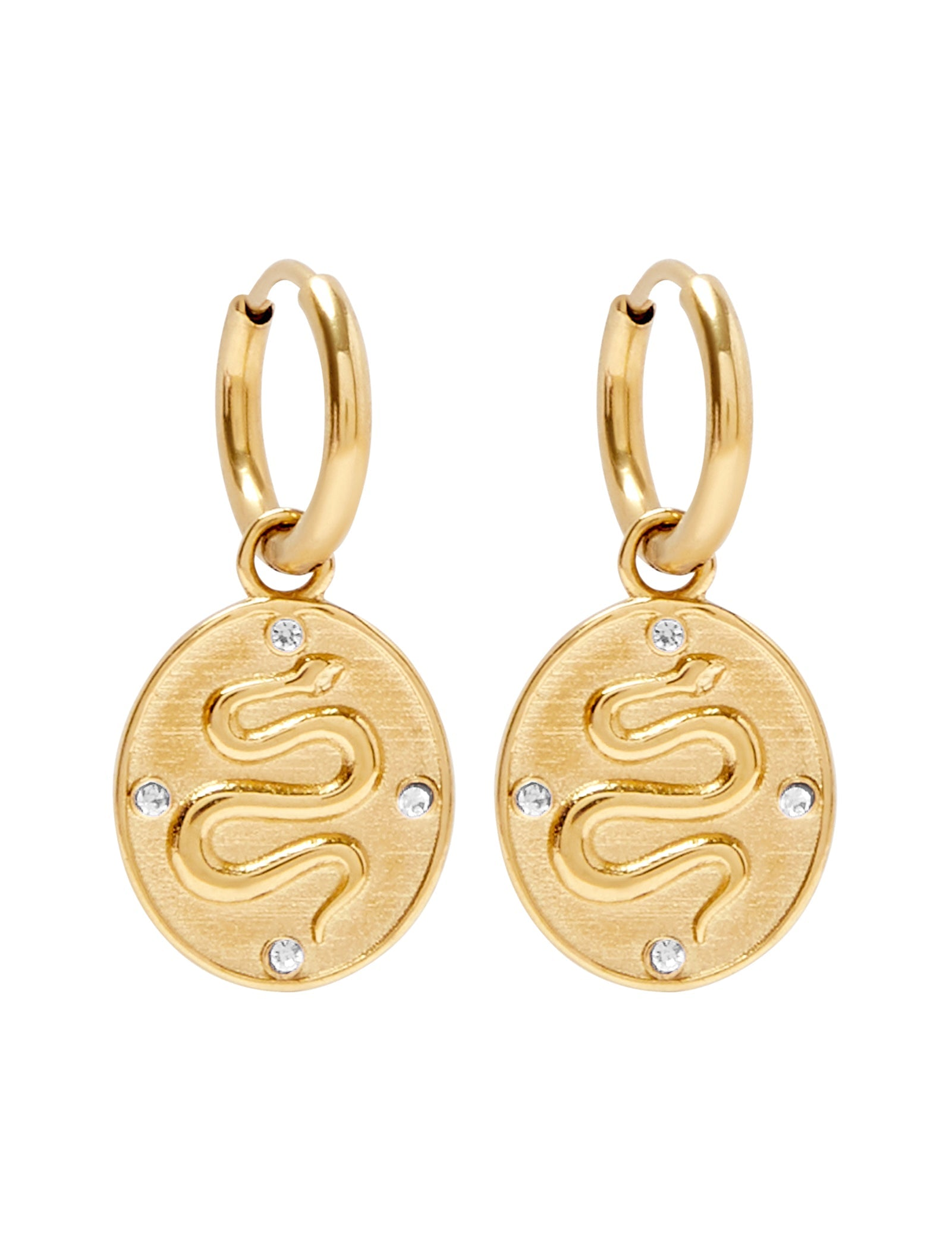 Pastiche  Eris Earrings - E1927YGCZ