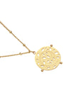 Pastiche Jewellery - Gaia Necklace - Yellow Gold Pendant Necklace