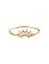 Pastiche  Night Fall Ring - R1206YGCZ-N