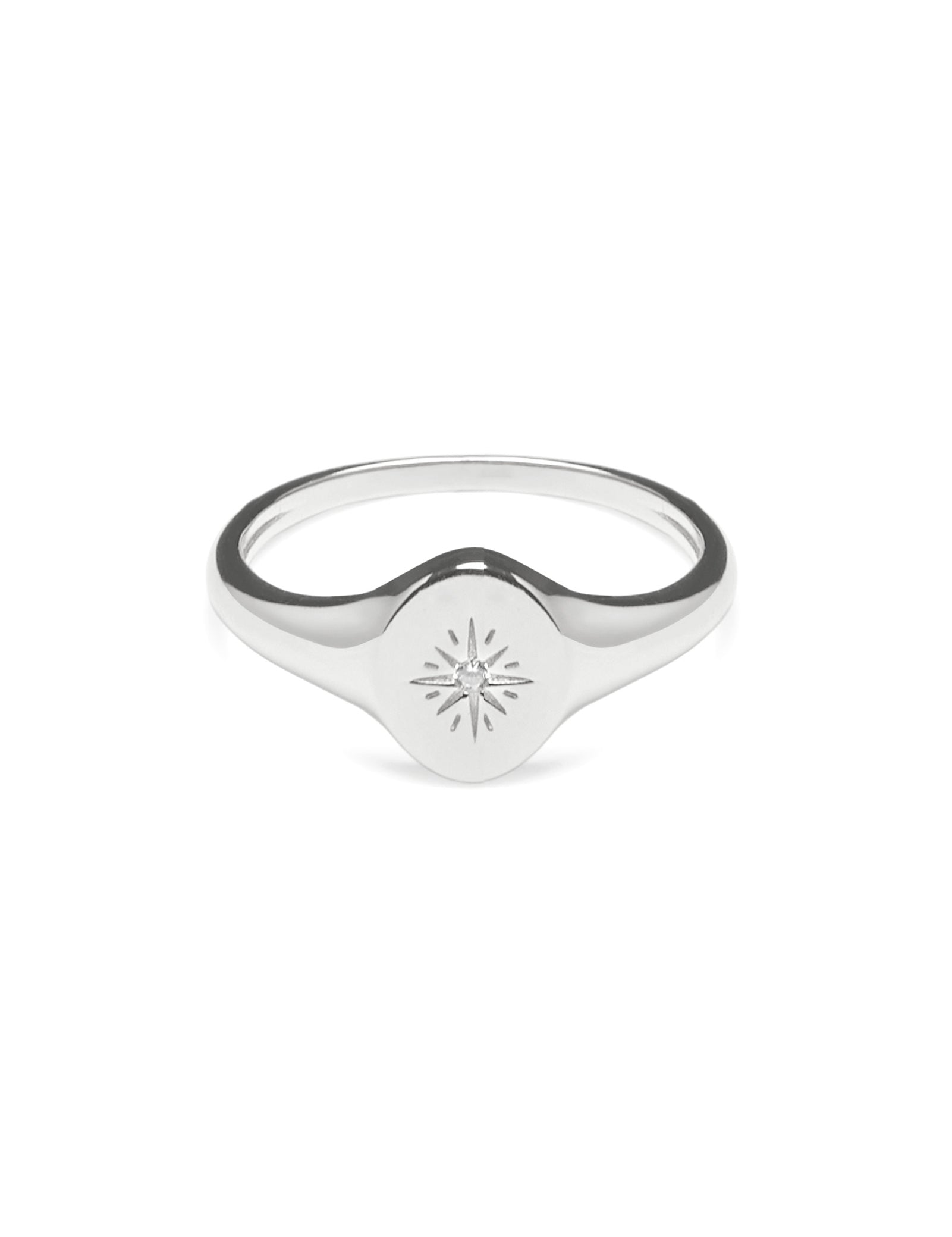 Pastiche  Voyager Ring Silver - R1211CZ-N