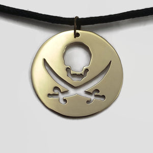 Pirate Pendant Necklace
