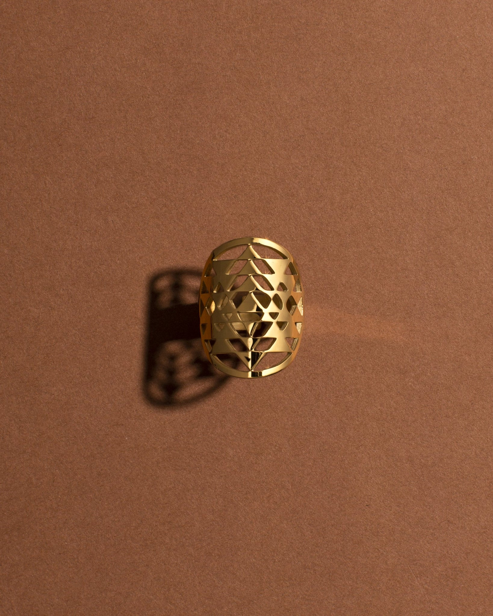 Sri Yantra Ring - Gold
