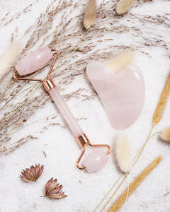 Rose Quartz Facial Reviving Set