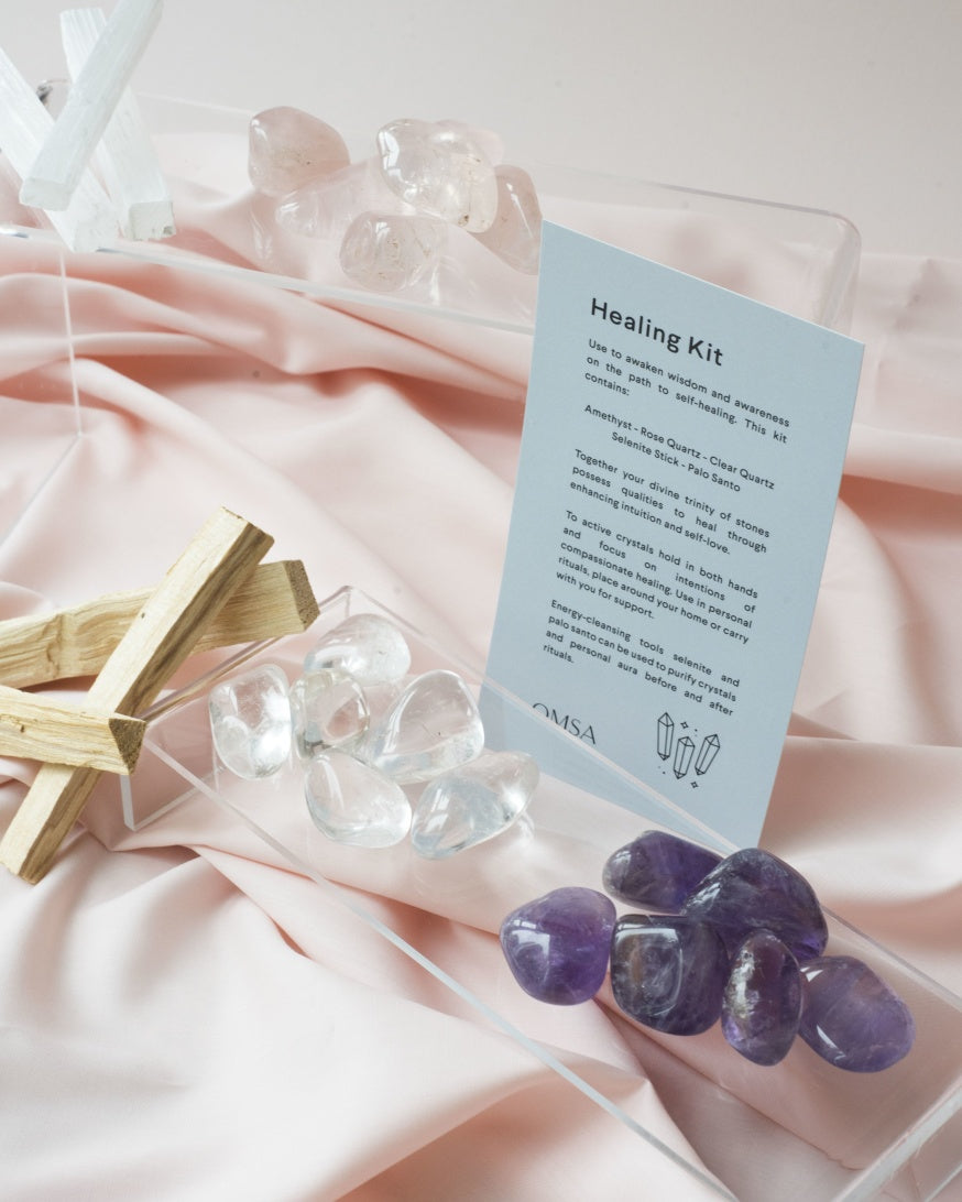 OMSA Healing Crystal Kit