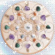 Load image into Gallery viewer, Moon Phase Crystal Grid