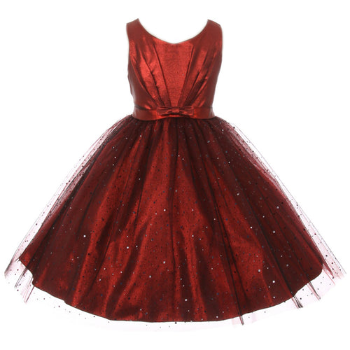 SPARKLY TULLE GIRL DRESS