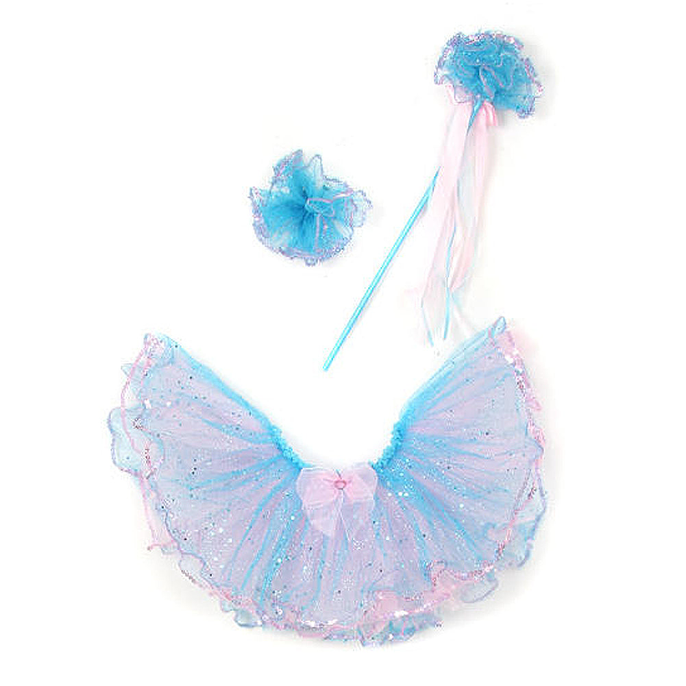 GLITTERED TWO TONE TUTU SET