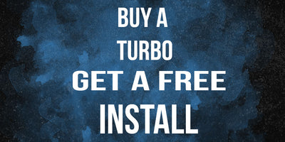 Buy a turbo, get a free install