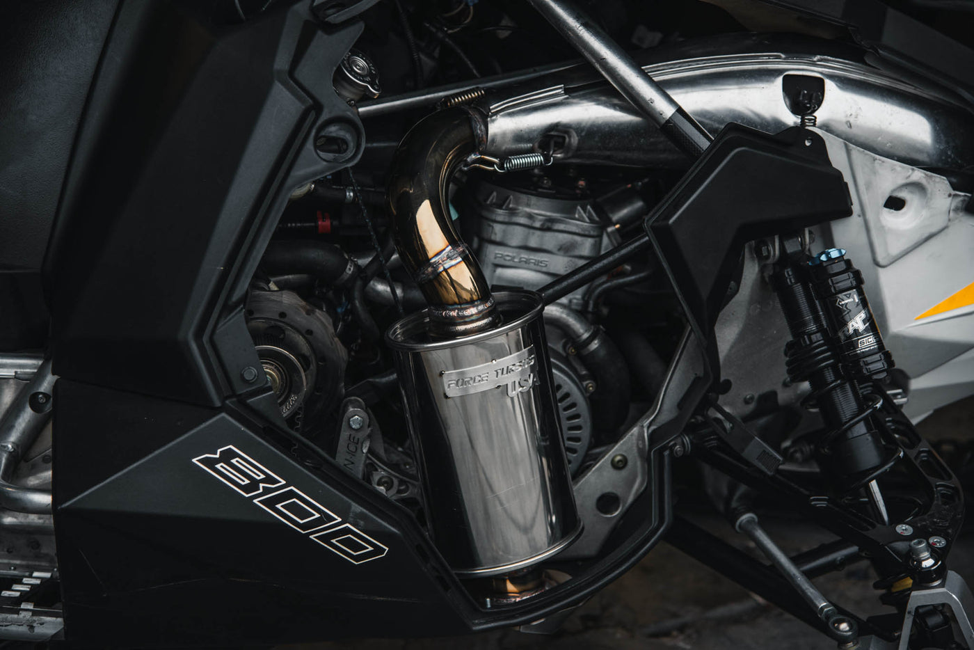 P800 Force Exhaust