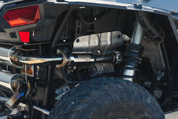 Polaris RZR Turbo Back Exhaust with Resonator