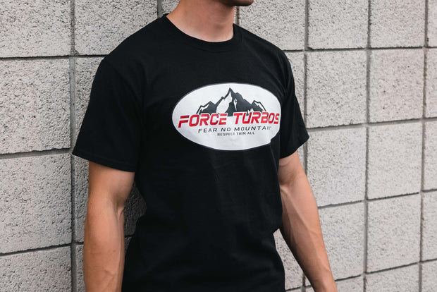 Force Turbos Short Sleeve Black T-Shirt
