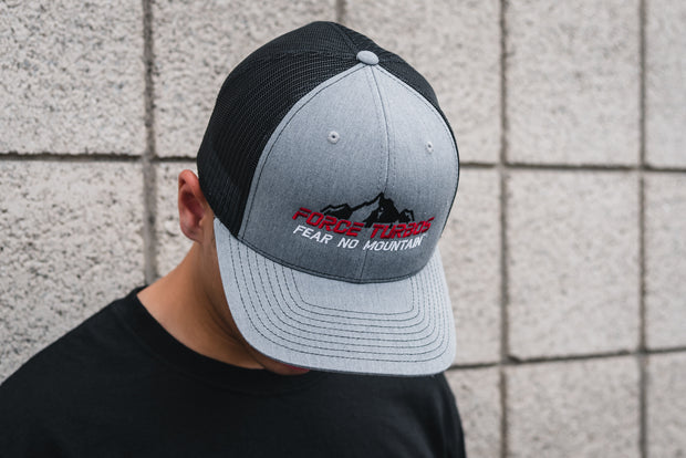 Force Turbos Grey Snapback Trucker Hat