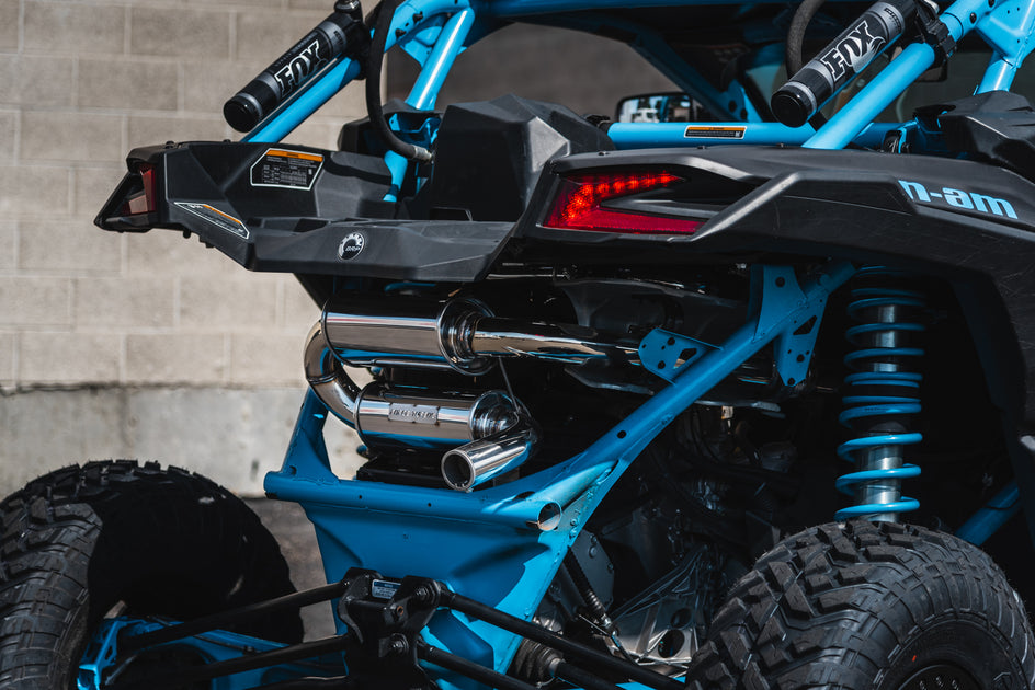Can-Am Maverick X3 Tamed Turbo Back Exhaust