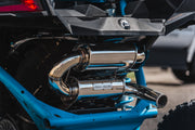 Can-Am X3 Tamed Turbo Back Exhaust