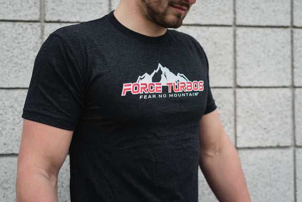 Force Turbos Signature Tee - Vintage Black