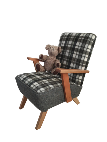 Just Like Daddy's -  Child's Chair (SOLD)
