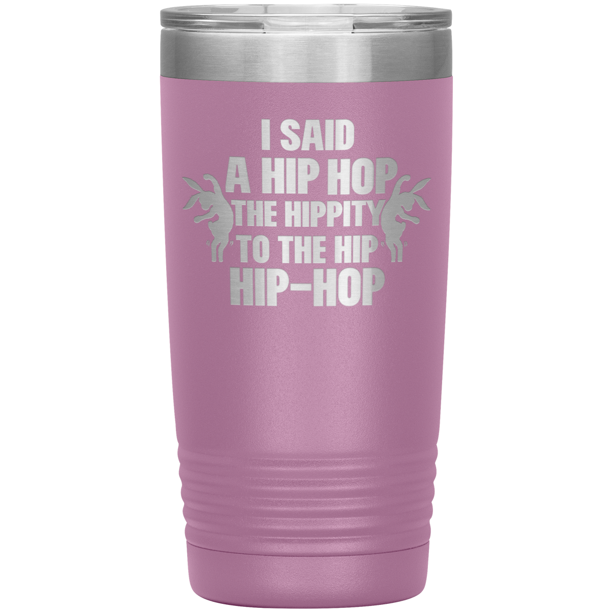 Happy Easter Gift Dancing Bunny Tumbler