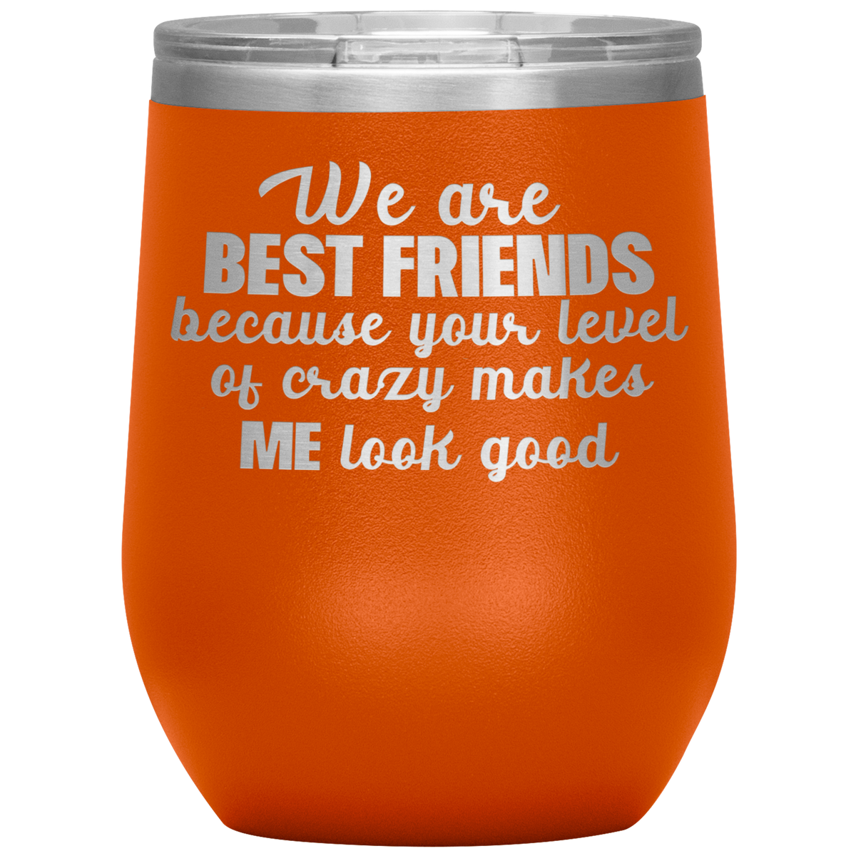 BEST FRIEND Gift Wine Tumbler