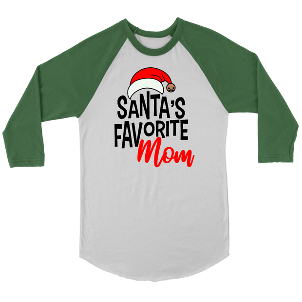 Santa's Favorite Mom Christmas Shirt