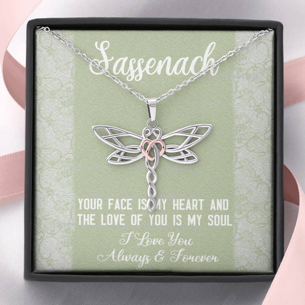 Sassenach Dragonfly Necklace