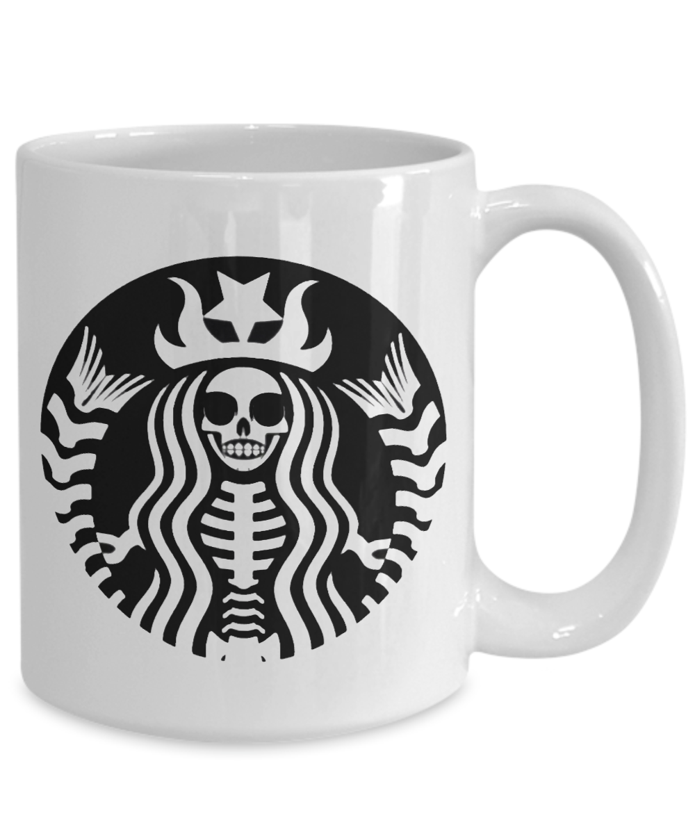 Coffee Lover Skeleton Mug