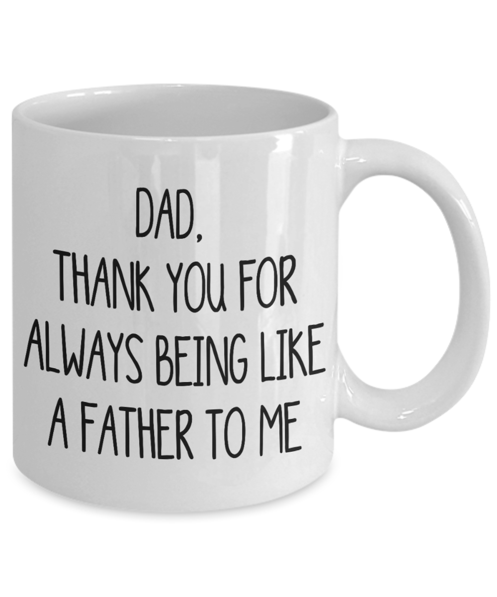 Thank You Dad Gift Mug