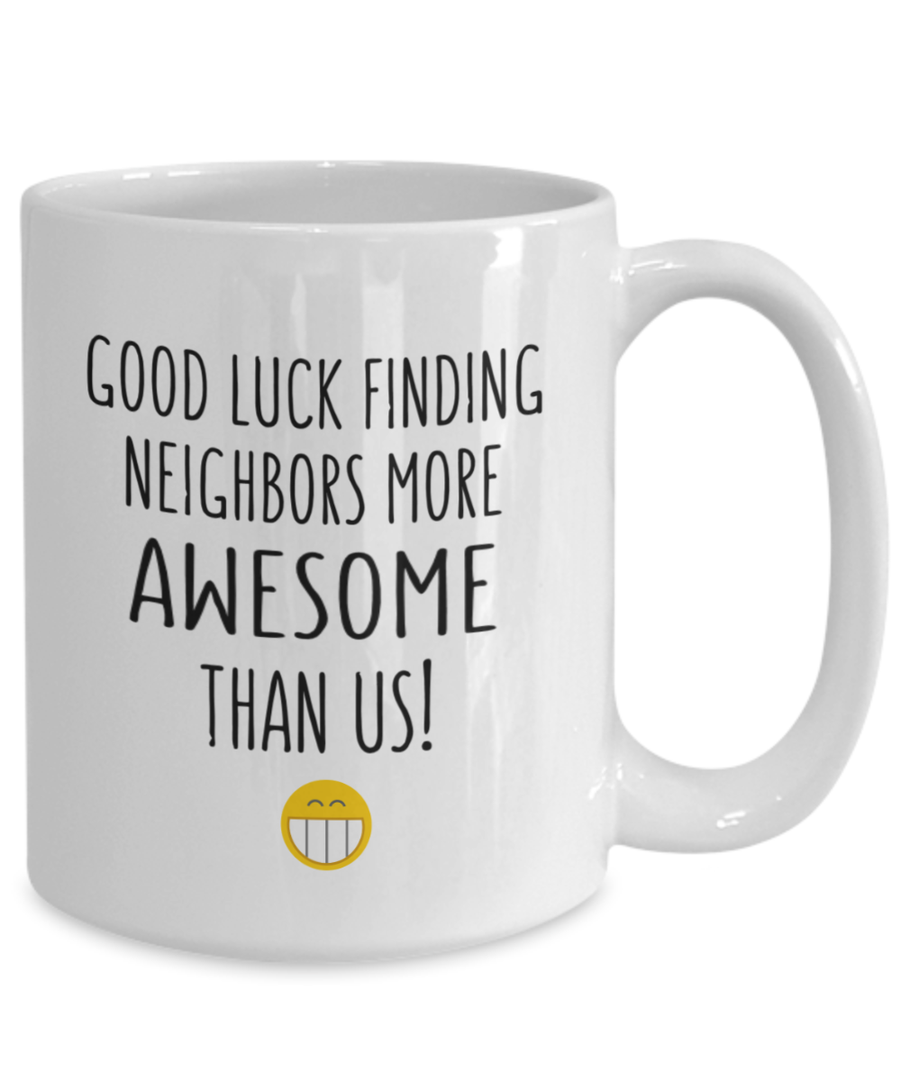 Moving Gift Good Luck Mug