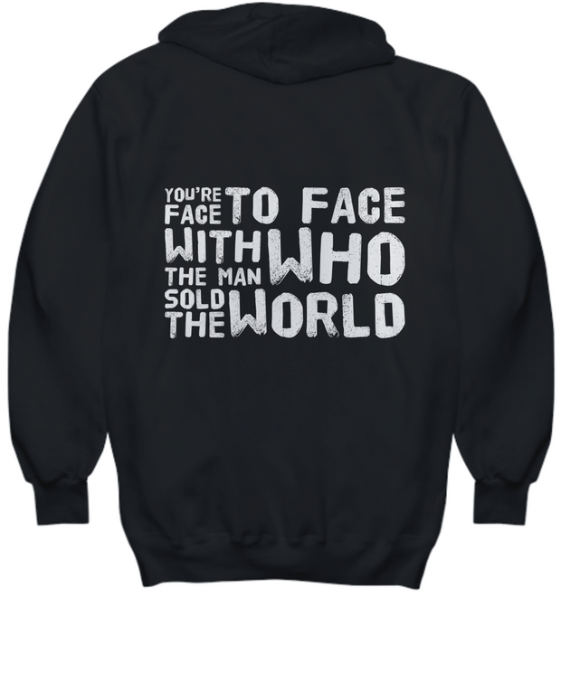The Man Who Sold The World Black Hoodie