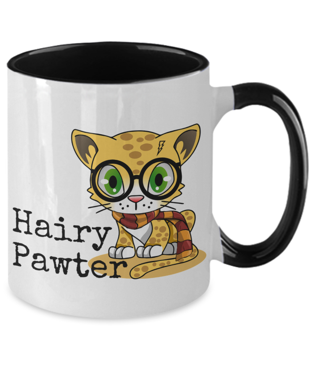 Hairy Pawter Cat Mug