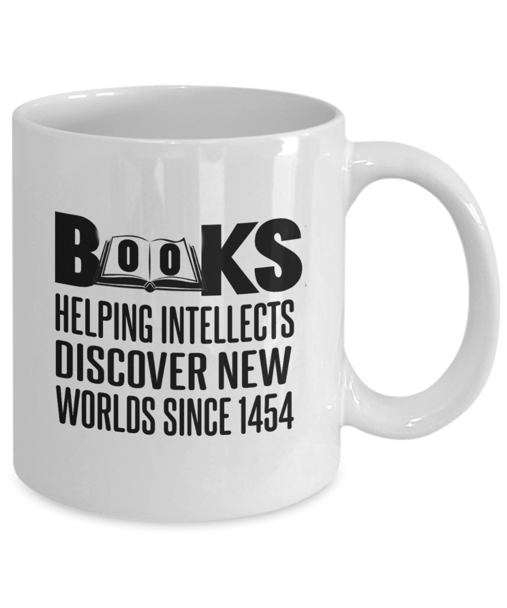 Books Helping Intellects Discover New Worlds Since 1454