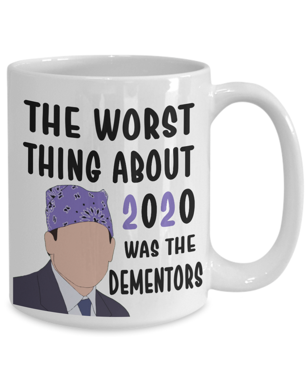 Michael Scott Mug Prison Mike Dementors 2020 Coffee Cup